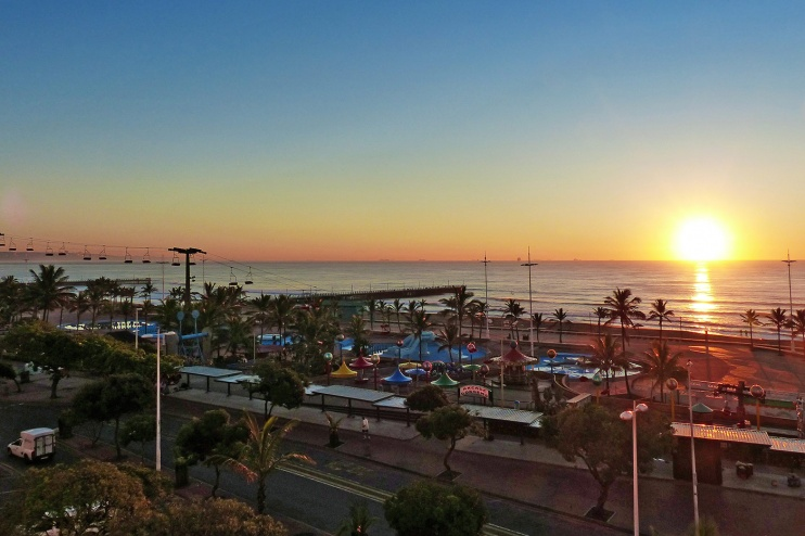 Durban Sonnenuntergang