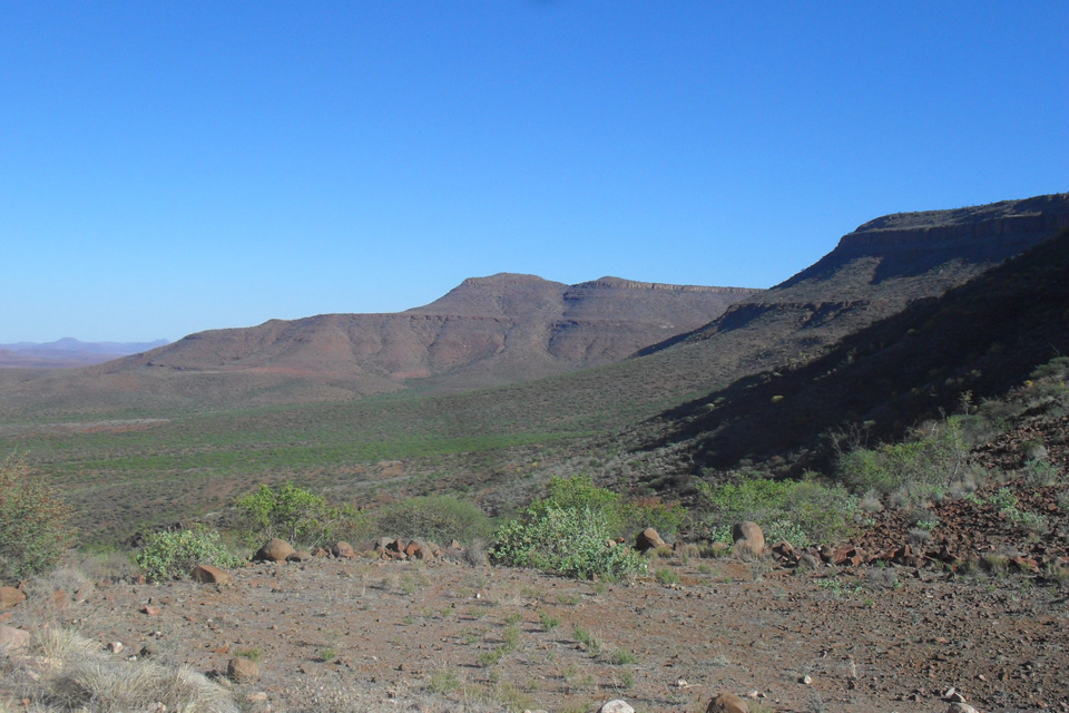 Blick vom Grootberg Pass