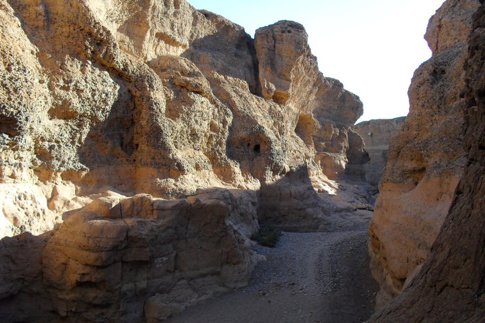 Sesriem-Canyon in Namibia
