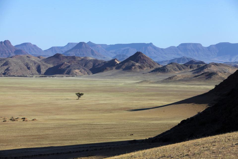 Landschaftsimpressionen Damaraland