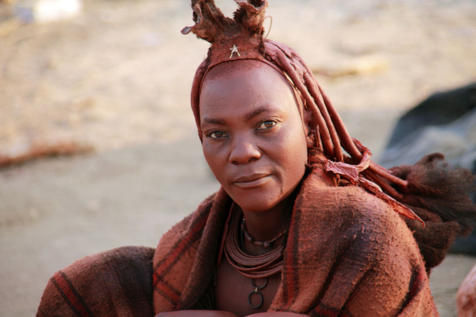 Himba in Namibia