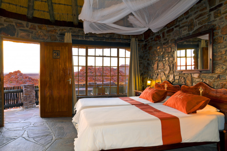 Zimmerbeispiel in der Canyon Lodge