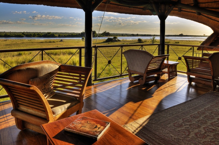 Chobe Savanna Lodge: Lounge