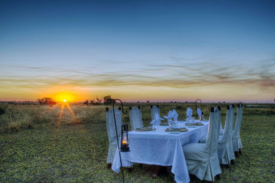 Chobe Savanna Lodge: Dinner