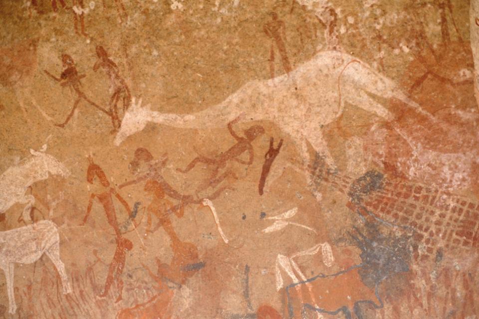 Felszeichnungen in Twyfelfontein