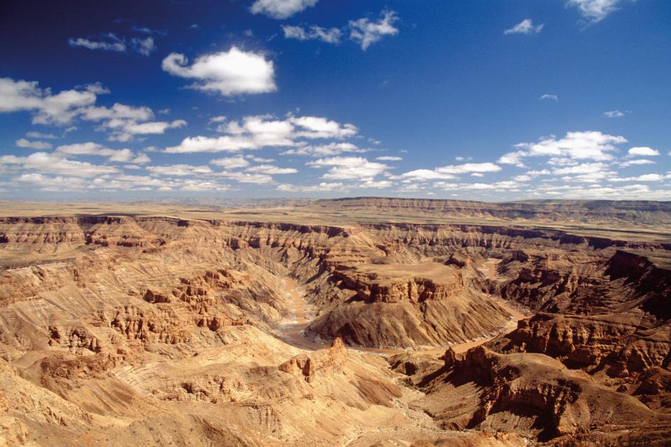 Am Fish River Canyon