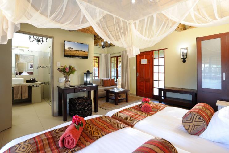 Zimmerbeispiel der Frans Indongo Lodge