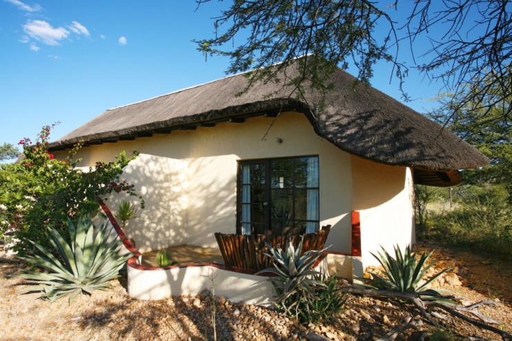 Bungalow der Immanuel Wilderness Lodge