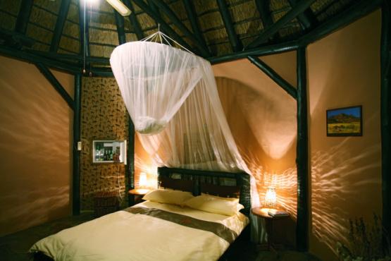 Zimmerbeispiel der Immanuel Wilderness Lodge