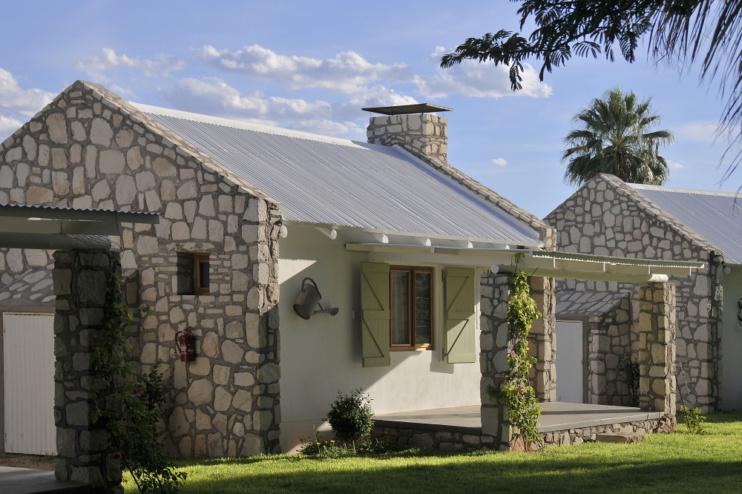 Wohnhäuschen im Kalahari Farmhouse