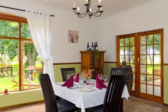 Dinner im Kalahari Farmhouse