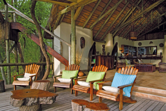 Lianshulu Lodge Sitzgelegenheiten