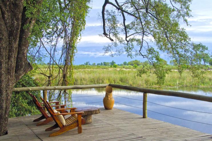 Aussicht in der Lianshulu Lodge