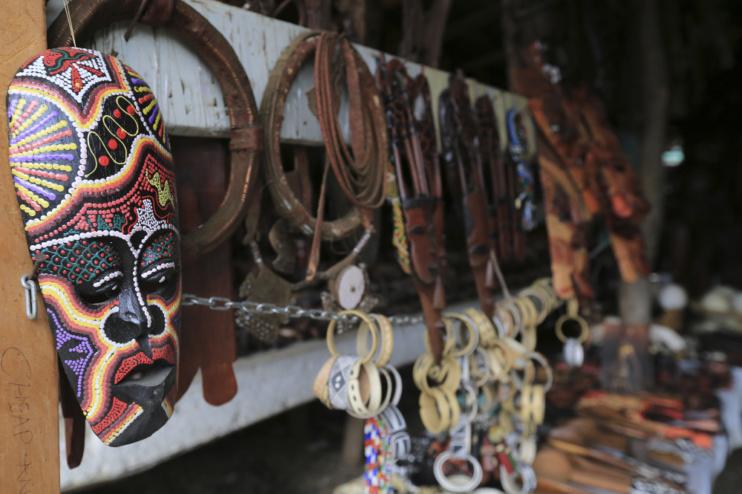 Holz-Schnitz-Markt von Okahandje