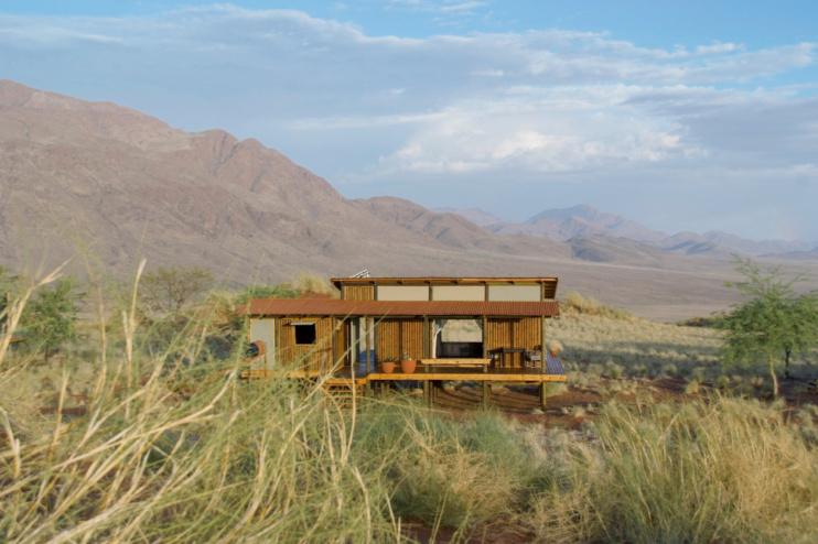 Außenansicht Wolwedans Dunes Lodge