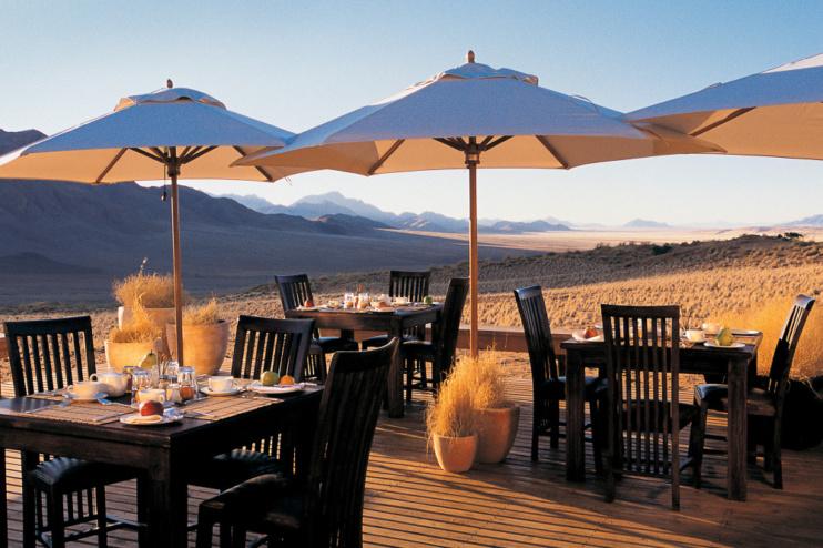 Restaurant Wolwedans Dunes Lodge