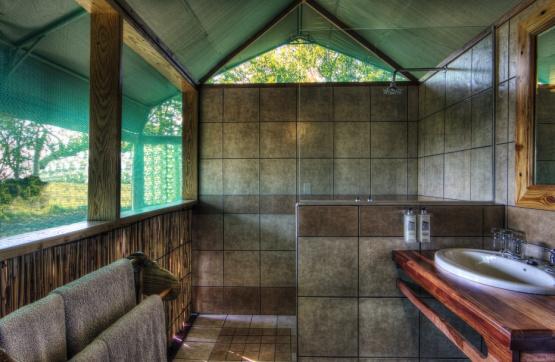 Camp Moremi: Badezimmer