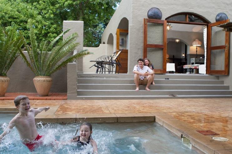 Chobe Game Lodge, Wohnbeispiel Familiensuite