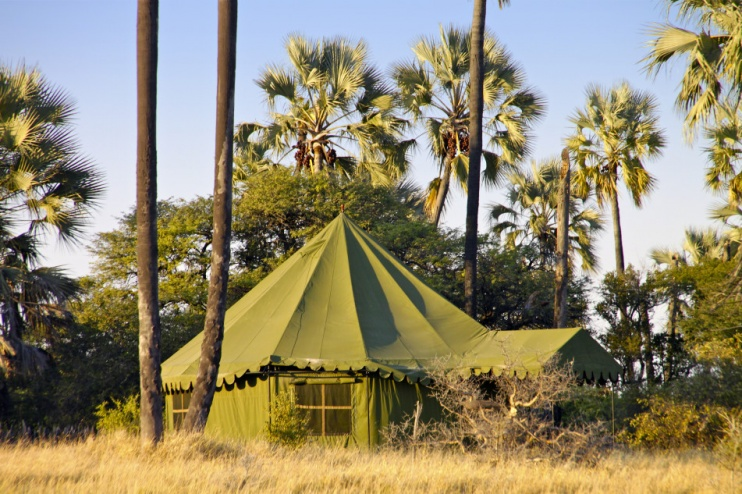 Jacks Camp, Makgadikgade-Pfanne, Botswana