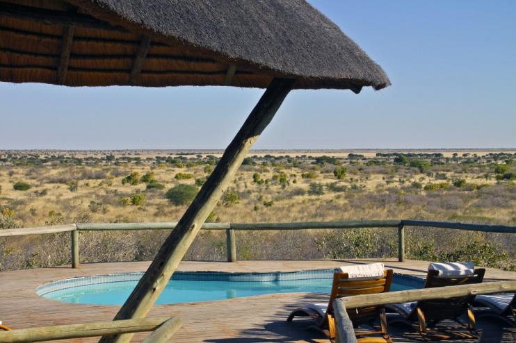 Kwando Tau Pan, Kalahari, Botswana