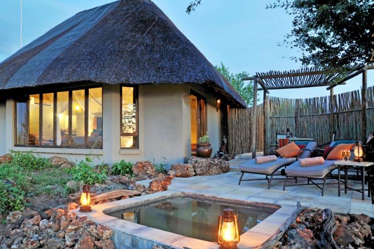 Suite-Hütte mit Pool, Ngoma Safari Lodge