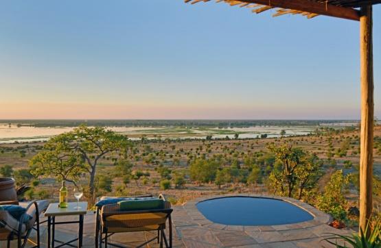 eigener Pool auf der Veranda, Ngoma Safari Lodge