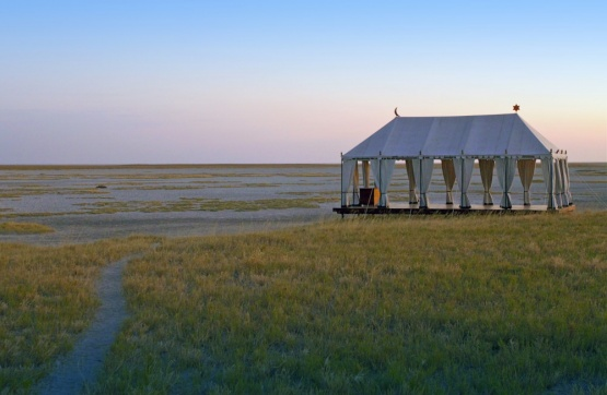 San Camp, Makgadikgadi-Nationalpark, Botswana