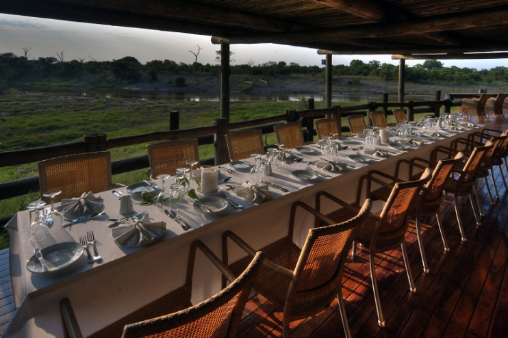 Savute Safari Lodge: Dinner