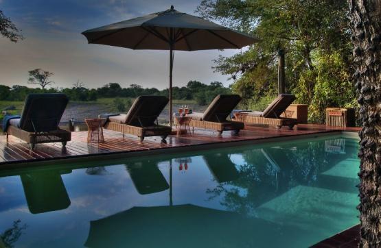 Savute Safari Lodge: Pool