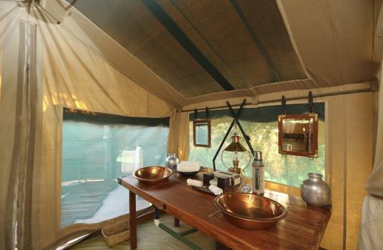 Hütte im Selinda Explorer Camp