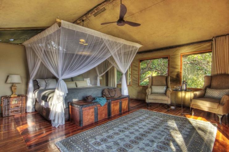 Shinde Camp Zimmer Beispiel