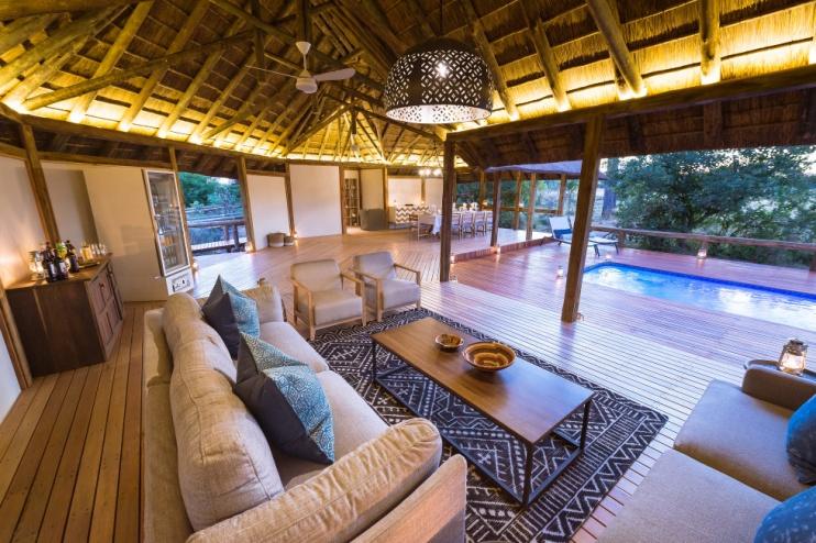 Splash Camp Enclave, Kwando, Wohnbereich