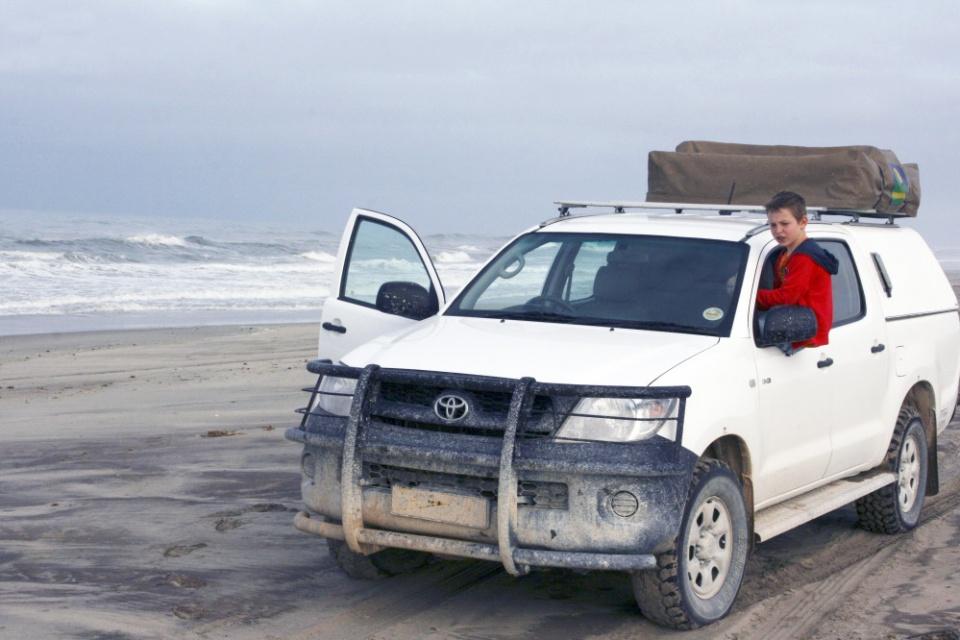 Familienreisen mit dem Mietwagen in Namibia