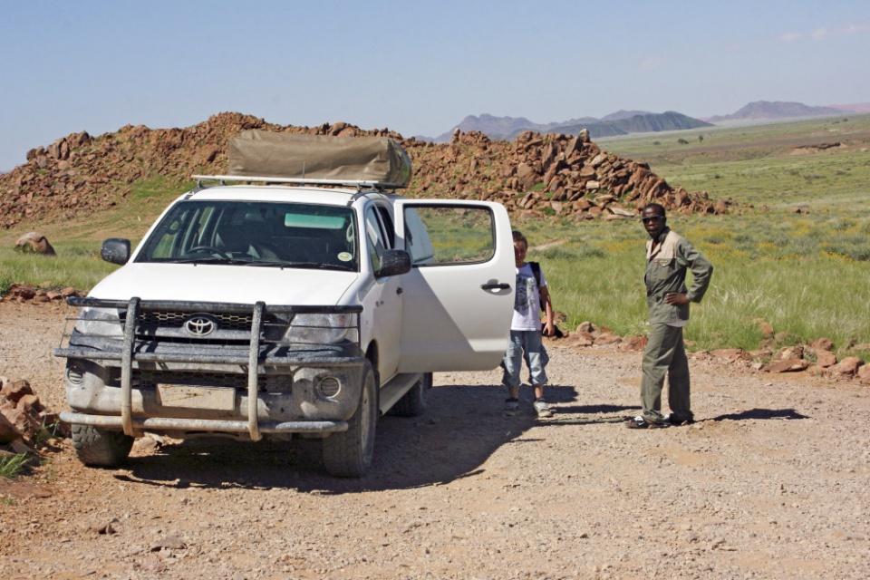 Namibia mit dem Mietwagen