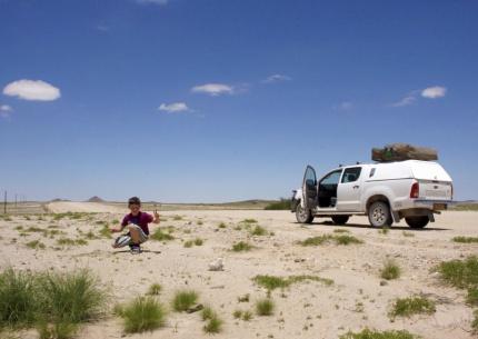 Mit dem Mietwagen durch Namibia