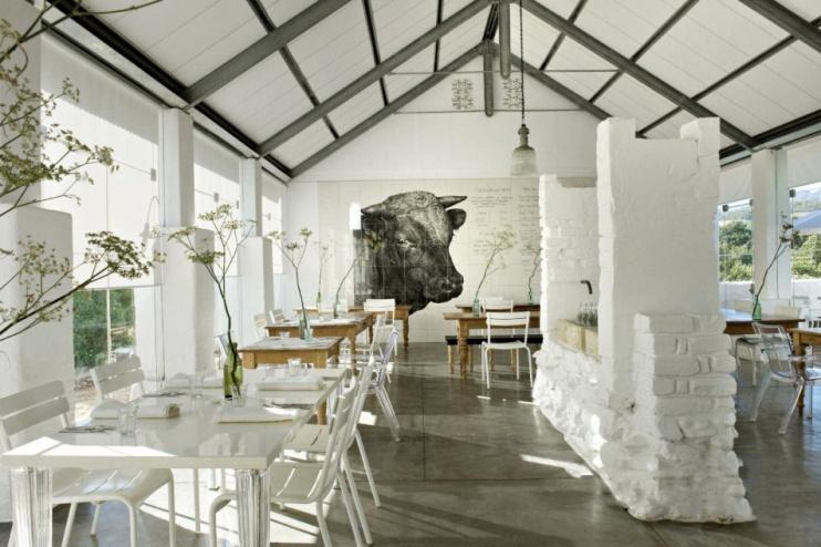 Das Babel Restaurant im Babylonstoren