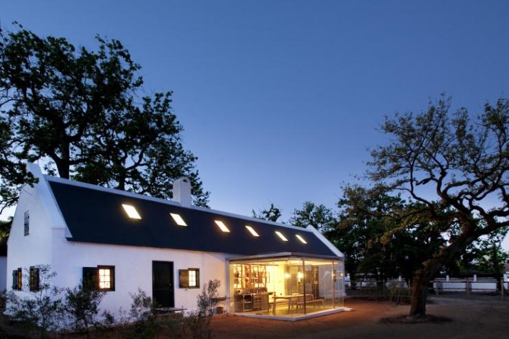 Cottage mit Glasküche, Babylonstoren