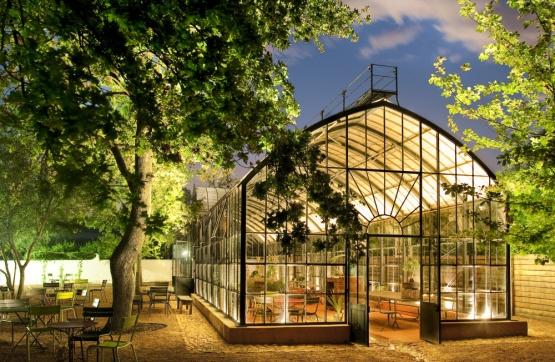 Das Greenhouse Restaurant im Babylonstoren