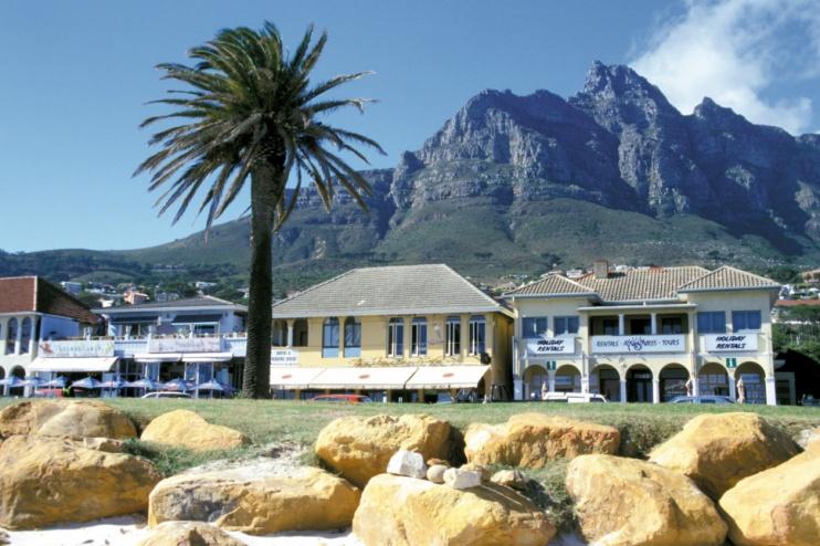 Camps Bay, einer der Vororte von Kapstadt