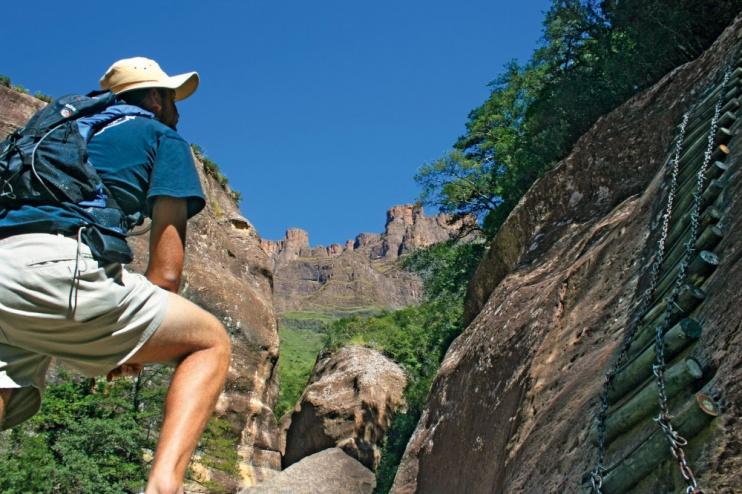 Wandern in den Drakensbergen