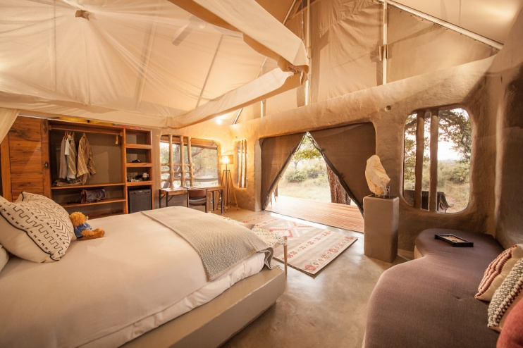 Garonga Safari Camp, Zimmerbeispiel