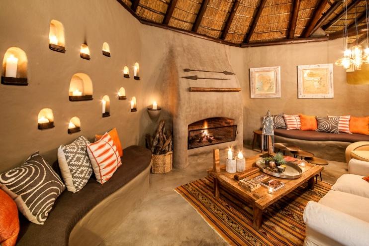 Garonga Safari Camp, Hauptbereich