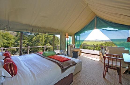 HillsNek Safari Camp, Zimmerbeispiel