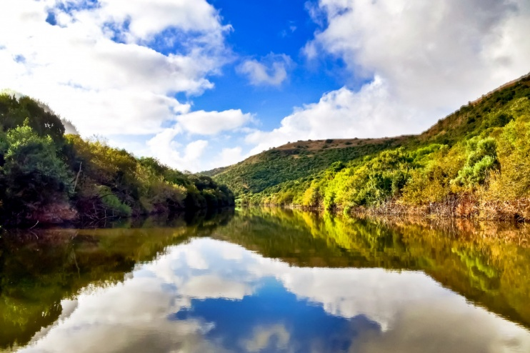 der Fluss Bushman