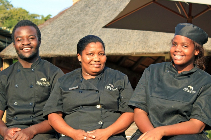 Nettes Team des HillsNek Safari Camps