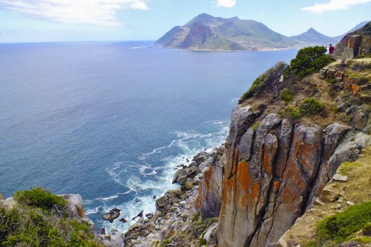 Blick auf das Meer Hout Bay