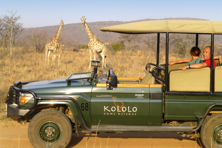 Kololo Game Reserve Safari
