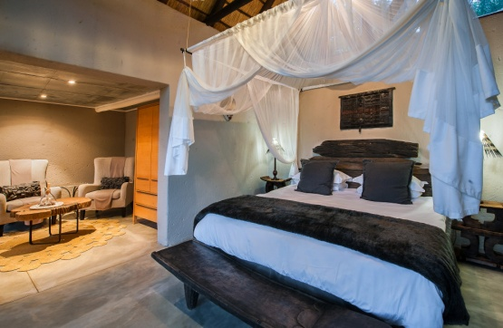 Pondomo Game Lodge Zimmer Beispiel