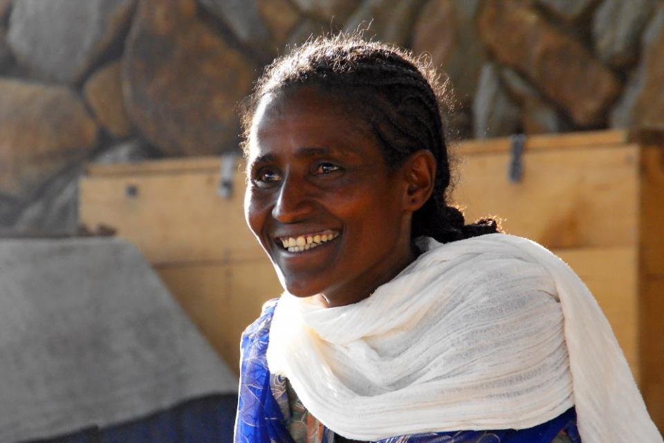 Frau in Nordäthiopien