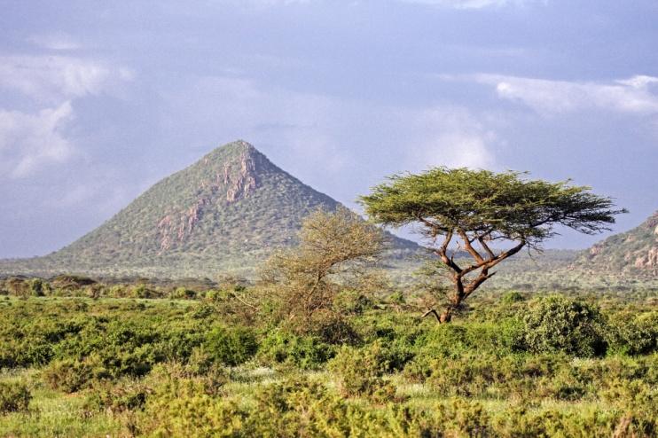 Momente der Stille im Samburu-Nationalreservat